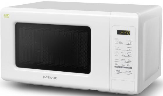 Микроволновая печь DAEWOO KOR-661BW 700 Вт белый микроволновая печь bbk 23mws 927m w 900 вт белый