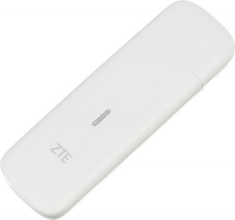Модем 4G ZTE MF823D USB внешний белый модем zte mf920t1 2g 3g 4g внешний белый