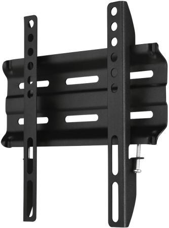 Кронштейн HAMA H-118106 черный для ЖК настенный фиксированный кронштейн для мониторов жк hama h 95831 черный 26