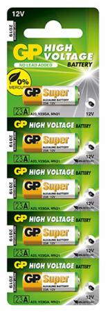 Батарейка GP Super Alkaline 23AF MN21 5 шт батарейка gp миньоны 15a4 1min 2cr5 5 шт в блистере gp 15a4 1min 2cr5 50 400