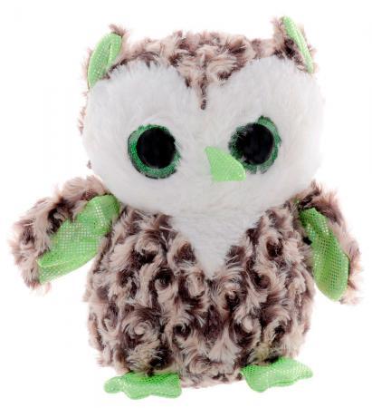 Мягкая игрушка сова Fancy Сова глазастик 20 см разноцветный искусственный мех GSO0 мягкая игрушка собака фэнси глазастик собачка искусственный мех серый белый sbb0 s