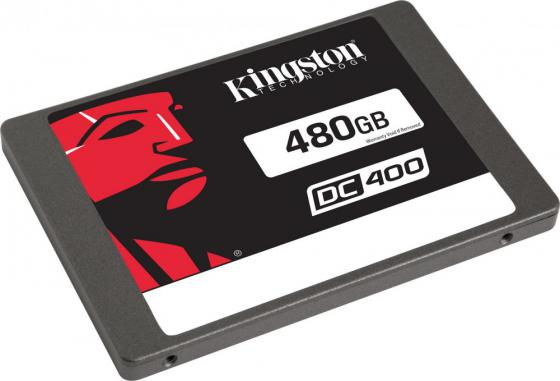 Твердотельный накопитель SSD 2.5 480 Gb Kingston SSDNow DC400 Read 555Mb/s Write 535Mb/s SATA III SEDC400S37/480G