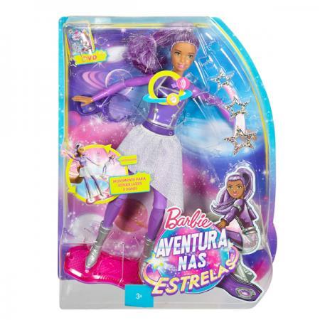 Кукла Barbie (Mattel) Barbie с ховербордом из серии Barbie и космическое приключение DLT23 original barbie doll mini barbie gift car dolls boneca fashionista girl princess toys for children gift dvt71