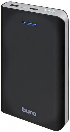 Портативное зарядное устройство Buro RA-25000 25000мАч черный/серый buro ra 16000 3u lcd черный