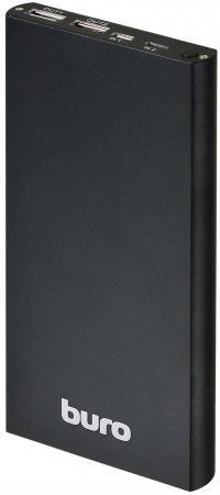 Портативное зарядное устройство Buro RA-12000-AL-BK 12000мАч черный buro ra 16000 3u lcd черный
