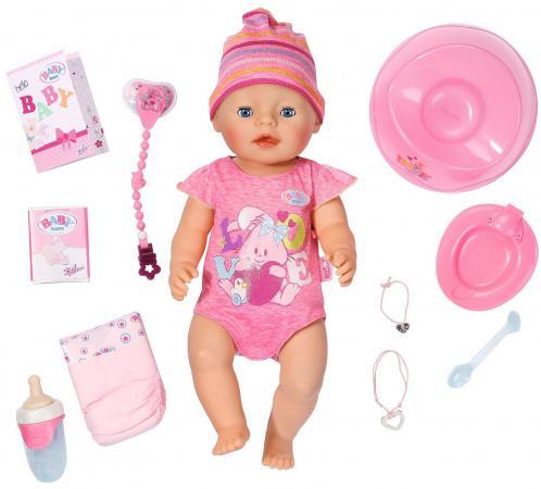 Пупс ZAPF Creation Baby born 43 см пьющая писающая плачущая 823-163 цена
