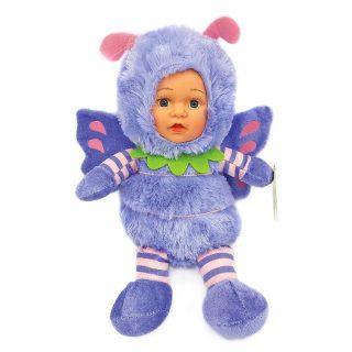 Мягкая игрушка бабочка Fluffy Family Бабочка 10 см сиреневый пластик искусственный мех 6927346812385 игр мягкая игрушка fluffy family валентинка 11 см в асс 681107