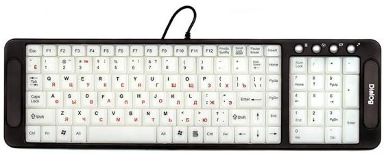 все цены на Клавиатура проводная Dialog Katana KK-L04U USB черный