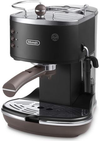 Кофеварка DeLonghi ECOV311.BK 1100 Вт черный delonghi ec680 bk dedica
