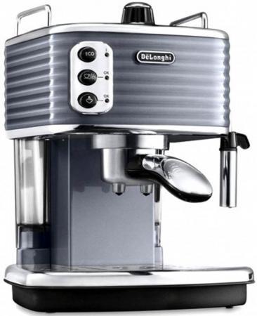 Кофеварка DeLonghi ECZ351.GY 1100 Вт серебристый