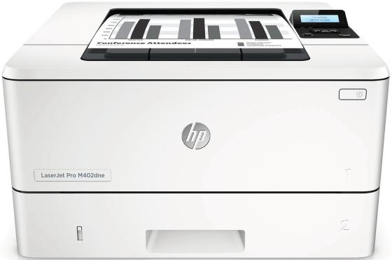 Принтер HP LaserJet Pro M402dne C5J91A ч/б A4 38ppm 1200x1200dpi 256Mb Ethernet USB принтер hp laserjet enterprise 500 color m553dn b5l25a цветной а4 38ppm 1200x1200dpi 1024mb ethernet usb