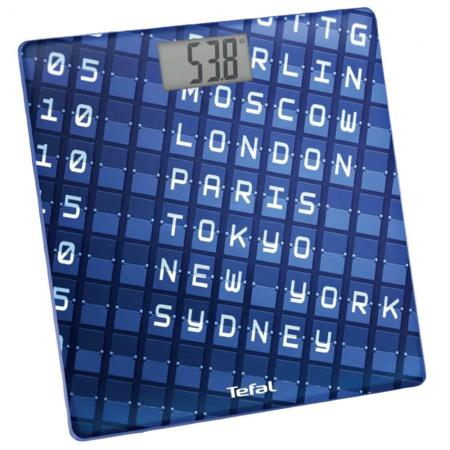 Весы напольные Tefal PP2100V0 синий весы напольные tefal pp1145v0