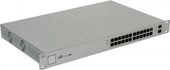 Коммутатор Ubiquiti UniFi Switch 24 управляемый UniFi 24 порта 10/100/1000Mbps 2xSFP US-24(EU)