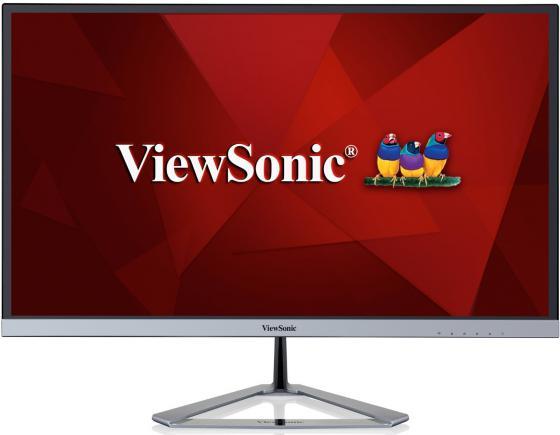 Монитор 23.8 ViewSonic VX2476-SMHD черный серебристый IPS 1920x1080 250 cd/m^2 4 ms HDMI DisplayPort Аудио VGA VS16510 монитор viewsonic vg2233 led черный