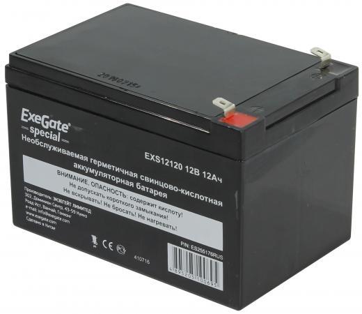 Батарея Exegate 12V 12Ah EXS12120