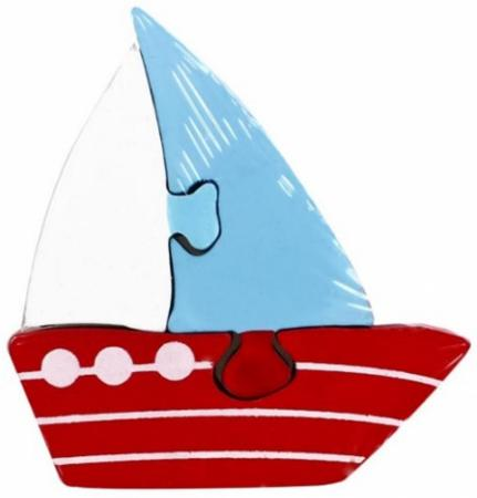 Пазл 3 элемента Mapacha Кораблик