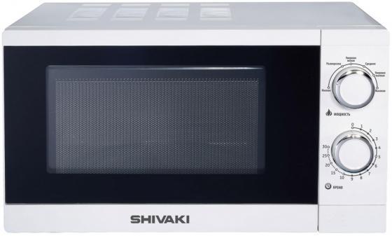 Микроволновая печь SHIVAKI SMW2001MW 700 Вт белый микроволновая печь shivaki smw 2001mw