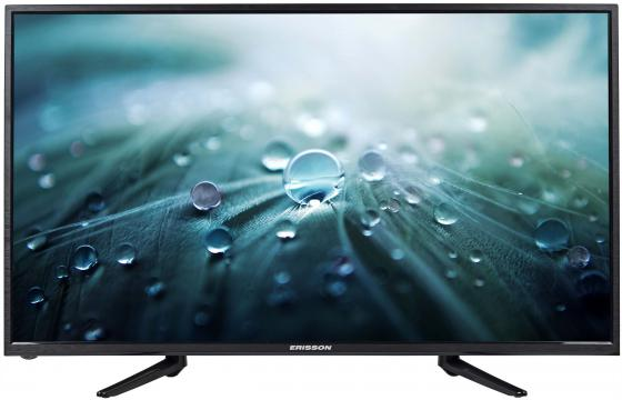Телевизор 39 Erisson 39LES76T2 черный 1366x768 50 Гц VGA SCART телевизор erisson 39les76t2