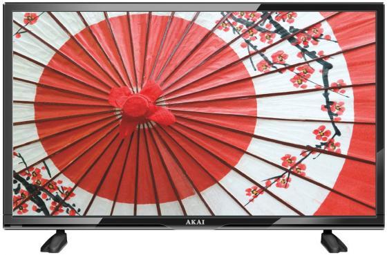 Телевизор LED 24 Akai LEA-24K39P черный 1366x768 50 Гц VGA HDMI RJ-45 led телевизор akai les 32x82wf