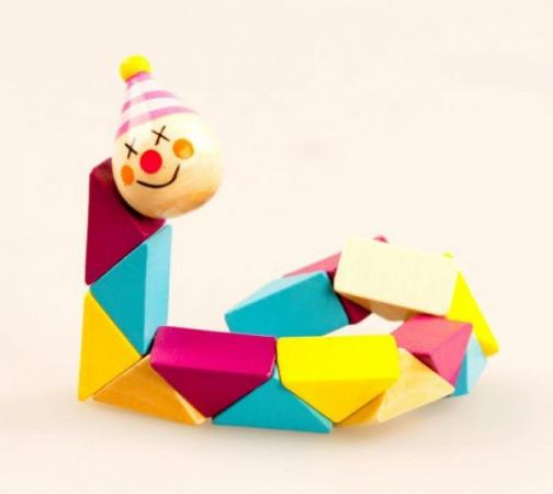 Логическая игрушка Mapacha Клоун 76413 деревянные игрушки mapacha логическая игрушка змейка