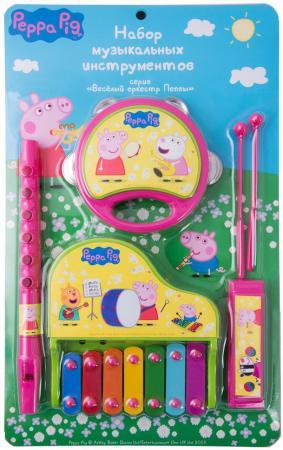 Набор музыкальных инструментов РОСМЭН ТМ Peppa Pig росмэн игровой набор самолет peppa pig