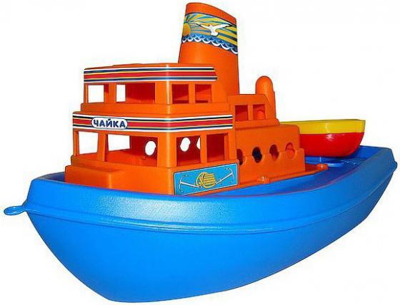 Корабль Полесье Чайка 36 см синий 36964 игрушки для ванны полесье корабль трансатлантик