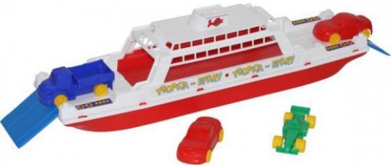 Игровой набор Полесье Паром Балтик+ Автомобиль Мини 4 шт разноцветный 56689 полесье игровой набор чистюля мини 42910