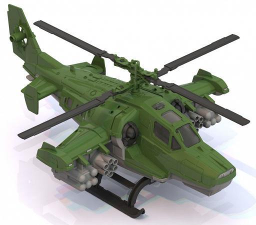 Вертолет Нордпласт 40 см зеленый ассортимент  247 нордпласт вертолет полиция нордпласт