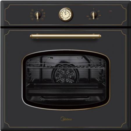 Электрический шкаф Midea 65DME40119 черный электрический шкаф midea 65dee30006 серебристый