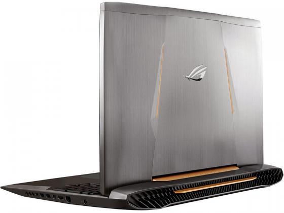 "Ноутбук ASUS G752Vs 17.3"" 1920x1080 Intel Core i7-6700HQ 1Tb + 256 SSD 8Gb nVidia GeForce GTX 1070 8192 Мб серый Windows 10 Home 90NB0D71-M03460"