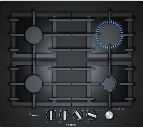 Варочная панель газовая Bosch PPP6A6M90R черный