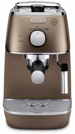 Кофеварка DeLonghi ECI341BZ 1100 Вт бронзовый кофемашина delonghi ecam 45 760 w белый