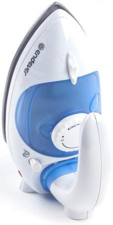 Утюг ENDEVER Odyssey-710 1000Вт белый синий утюг дорожный endever q 710