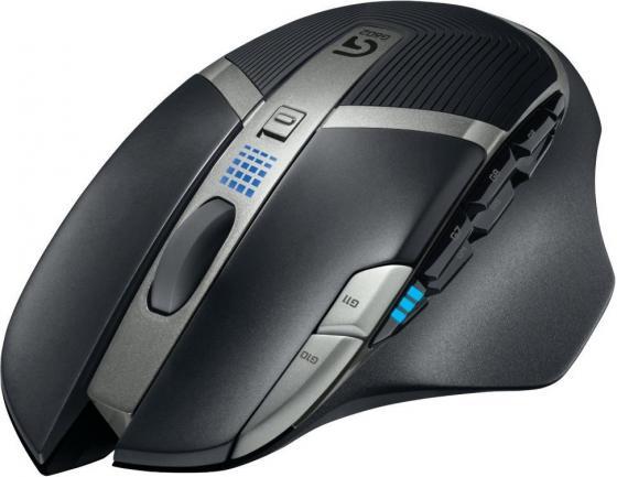 все цены на Мышь беспроводная Logitech G602 Wireless Gaming Mouse-2.4GHZ-EER2 чёрный USB 910-003822