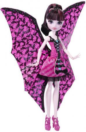 Кукла Monster High Дракулаура 26 см DNX65 в трансформирующемся наряде monster high кукла дракулаура в трансформирующемся наряде
