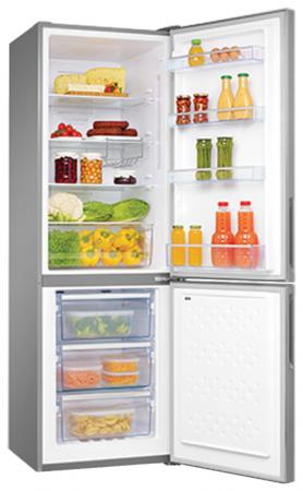 Холодильник Hansa FK321.3DFX серебристый
