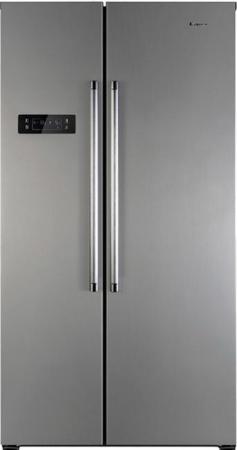 Холодильник Side by Side Candy CXSN 171 IXH серебристый 34002100 холодильник side by side samsung rs552nrua9m