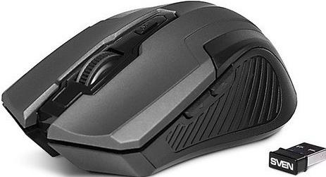 Мышь беспроводная Sven RX-355 Wireless grey серый USB стоимость