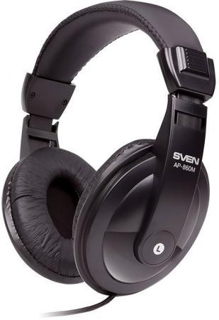 Гарнитура Sven AP-860M черный гарнитура sven ap 860mv черный