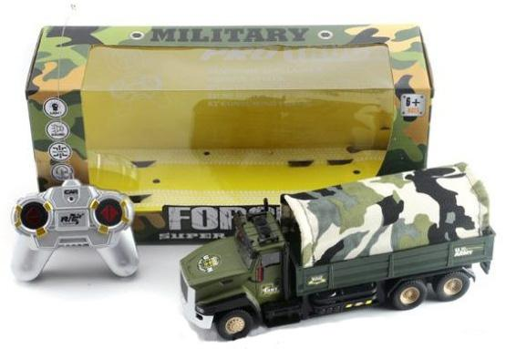Грузовик на радиоуправлении Shantou Gepai ВForce Super Truck камуфляж от 6 лет 810-1 1toy грузовик тягач на радиоуправлении heavy truck