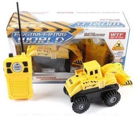 Машинка на радиоуправлении Shantou Gepai Стройка желтый от 6 лет пластик 911-B машинка на радиоуправлении shantou gepai drift car ассортимент от 3 лет пластик 1 20 4 канала 2 вида 8010 1 8010 2