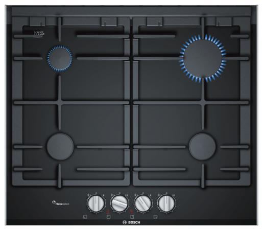 Варочная панель газовая Bosch PRP6A6D70R черный bosch prp 6 a6 n 70 r