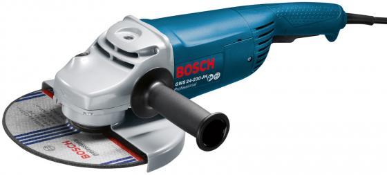 Углошлифовальная машина Bosch GWS 24 - 230 JH 2400 Вт угловая шлифовальная машина bosch gws 20 230 h 0 601 850 107