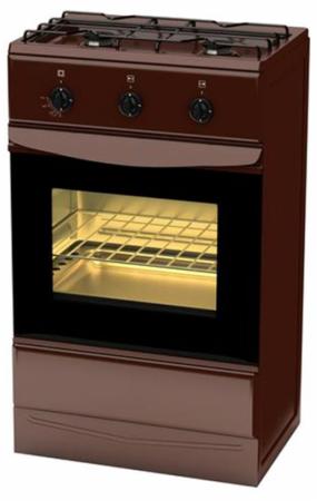 Газовая плита TERRA GS 5203 Br / SH 12.120-04 коричневый газовая плита terra sh 14 120 04 br коричневый