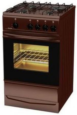 Газовая плита TERRA SH 14.120-01 Br коричневый газовая плита terra sh 14 120 04 br коричневый