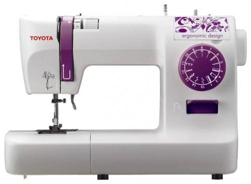 цена на Швейная машина Toyota ECO 15A бело-розовый