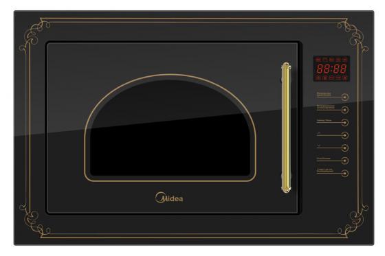 Встраиваемая микроволновая печь Midea TG925BW7-B2 900 Вт чёрный