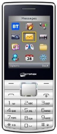 Мобильный телефон Micromax X705 белый 2.4 32 Мб мобильный телефон micromax x705 черный x705 black