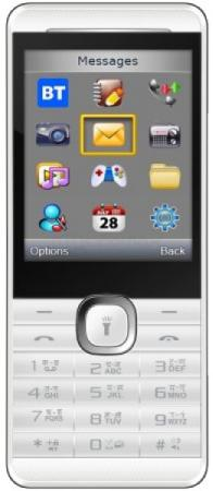 Мобильный телефон Micromax X249+ белый 2.4 мобильный телефон micromax x649 white