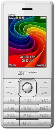 "все цены на Мобильный телефон Micromax X2400 белый 2.4"" онлайн"